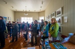 Gallery opening and launch of 'Otago Peninsula Birds A Pocket Guide' booklet