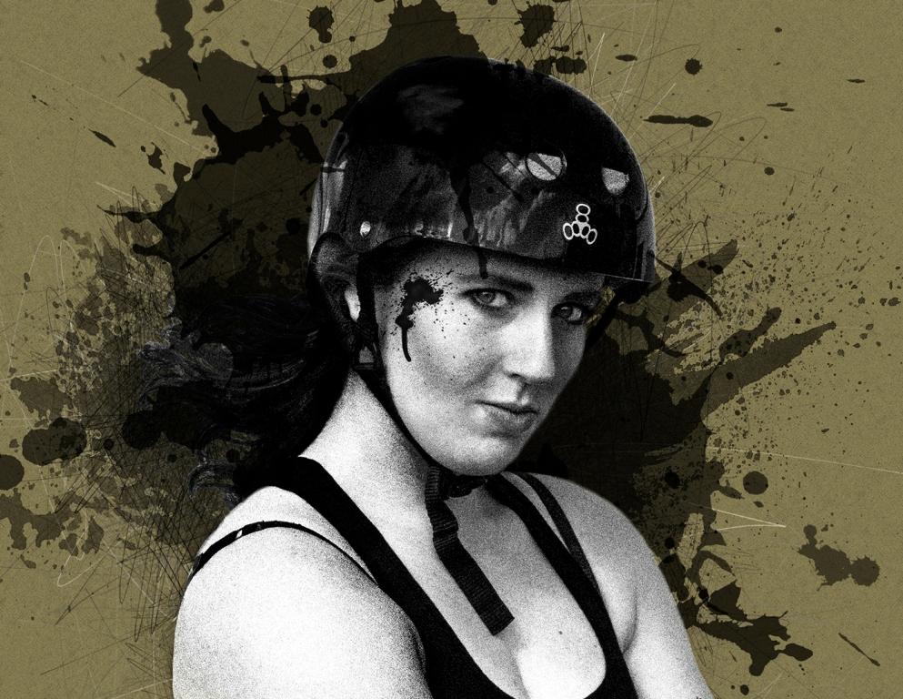 M0009_Derby Girl