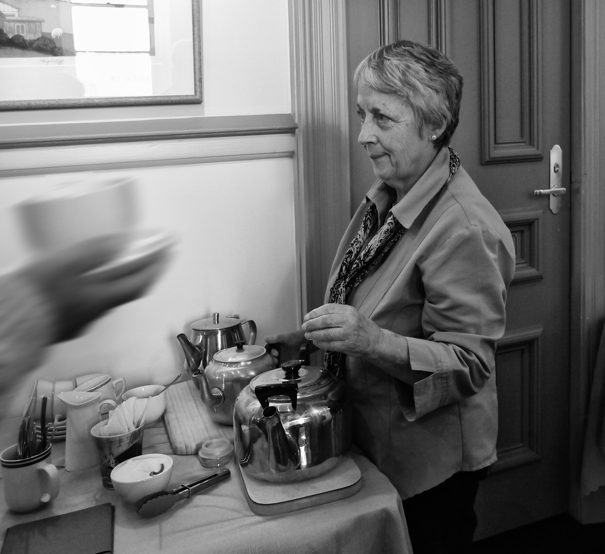 1st Mick Waby The Tea Lady