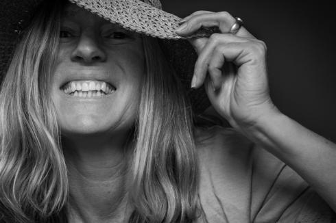 1st Place Self Portrait by Kate Burton