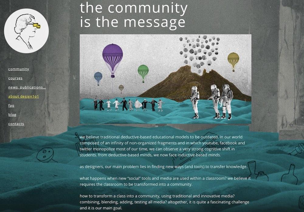 Design1o1 Community Statement