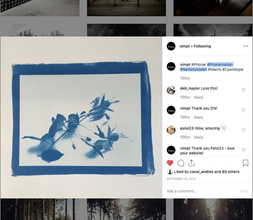 #PhonarNation Hashtags on Instagram