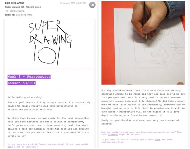 SuperDrawing 101 Lesson 53 Email